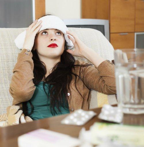 NUTRIADAPT Běžné léky proti bolesti na migrénu nemusí stačit ŽENA BOLEST HLAVY