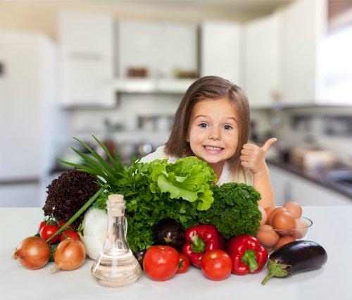 NUTRIADAPT Aby děti jedly ryby, luštěniny a zeleninu ZELENINA
