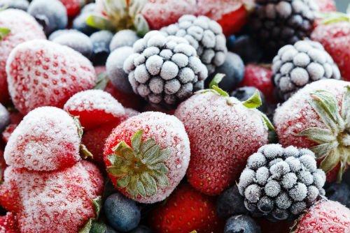 NUTRIADAPT Džemy, zavařeniny, zamrazování, mražené jahody