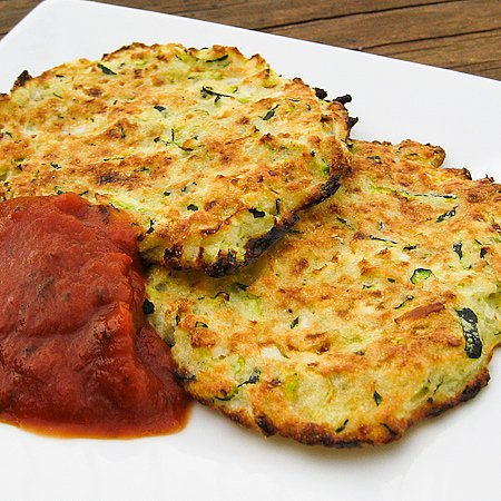 Baked Zucchini Crab Cakes